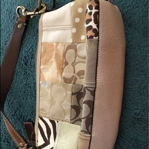 Coach patchwork bag, looks unused but no tags.